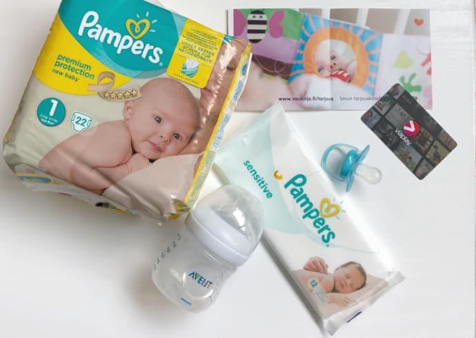 Ilmaiset tuotteet vauvalle