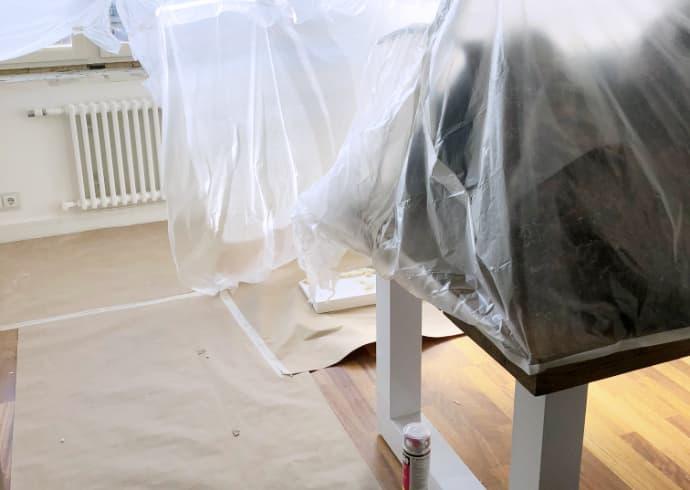 Asunnossa hometta – home-evakossa juuri ennen laskettua aikaa