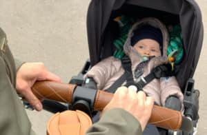 vauva matkustus matkarattaat