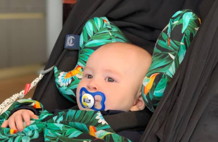 vauva matkustus tyyny mamapolka