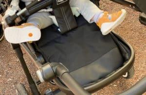 emmaljunga lastenvaunut jalkatuki
