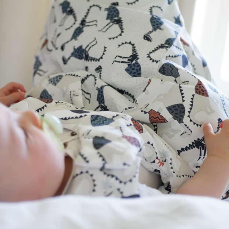 vauvan uni pussi