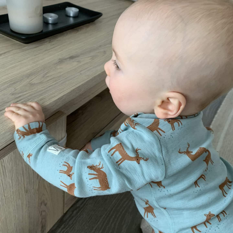 vauvan talvipukeutuminen aluskerros